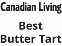 Canadian Living Best Butter Tart in Canada - Winner